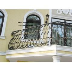 Кованое балконное ограждения Б-16