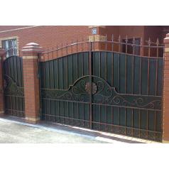 Ворота кованые №070 (средняя стоимость 1840 бел. руб.)