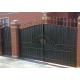 Ворота кованые №070 (средняя стоимость 2540 бел. руб.)