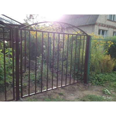 Кованый забор в Чаусах  Z-72