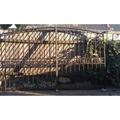 Ворота кованые №092 (средняя стоимость 1310 бел. руб.)