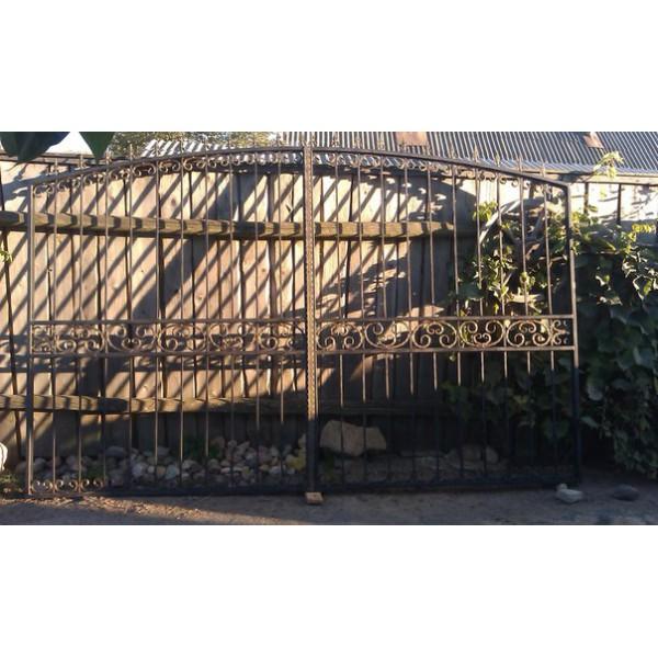 Ворота кованые №092