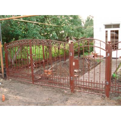 Ворота кованые№091