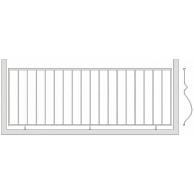 Балконное ограждения Б-5