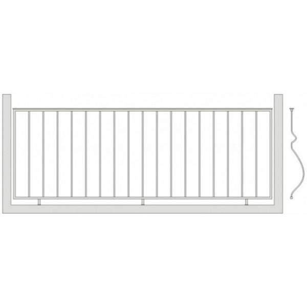 Кованое балконное ограждения Б-5