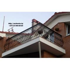 Кованое балконное ограждения Б-15