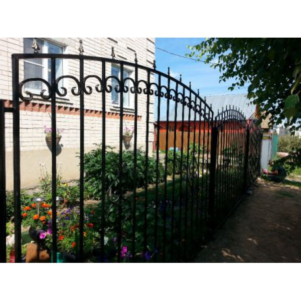 Кованый забор в Гомеле Z148