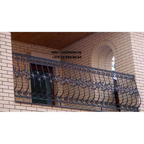 Кованое балконное ограждения Б-12