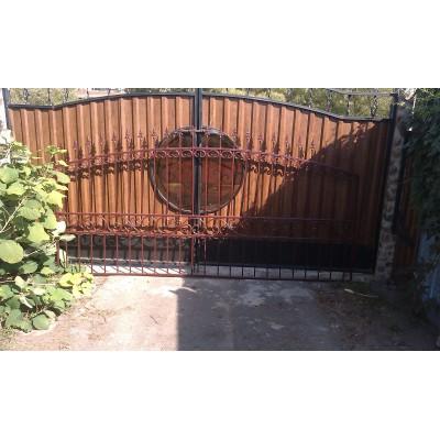 Забор кованый №060 в Горках