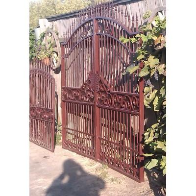 Ворота кованые №073 (средняя стоимость 1444 бел. руб.)
