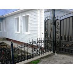 Кованый забор в Беларуси №0144