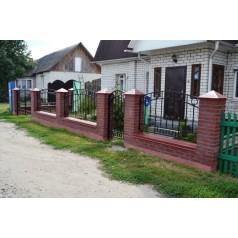 Кованый забор в Орше №0139