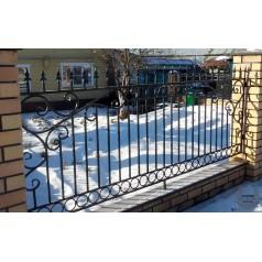 Кованый забор в Жлобине Z-70
