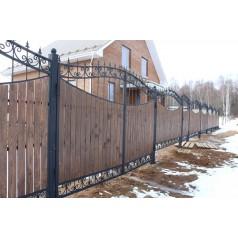Ворота кованые №0201 (средняя стоимость 2520 бел. руб.)
