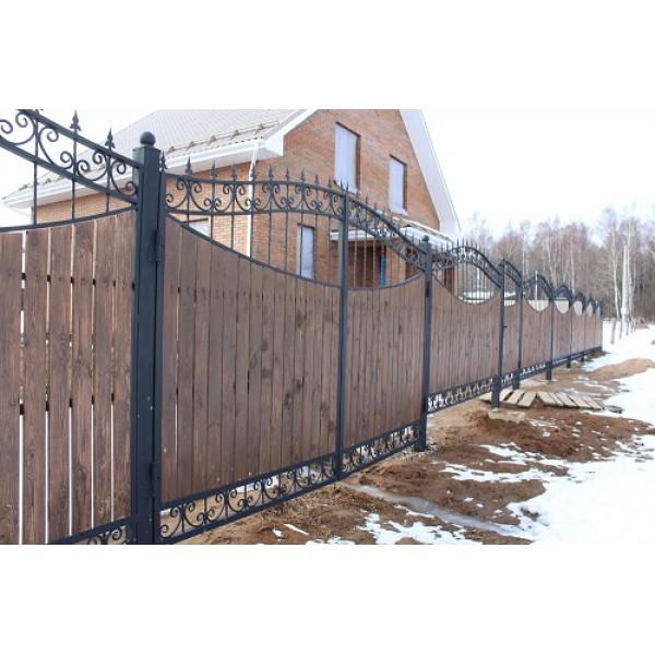 Ворота кованые №0201