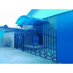 Забор кованый  в Хотимске №1067
