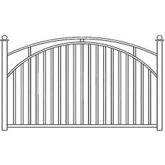 Забор сварной №0246