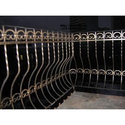 Кованое балконное ограждения Б-14