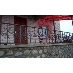 Кованое балконное ограждения Б-9