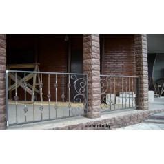 Кованое балконное ограждения Б-10