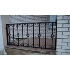Кованое балконное ограждения Б-11