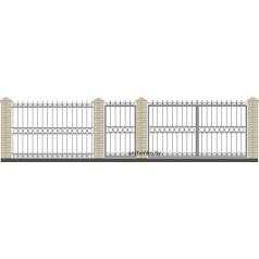 Забор кованый №019