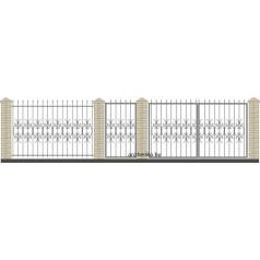 Забор кованый №006 в Могилеве
