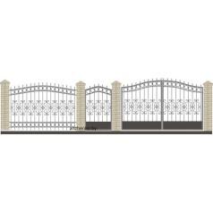 Забор кованый №047