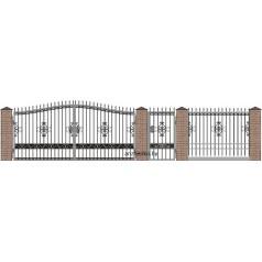 Забор кованый №024