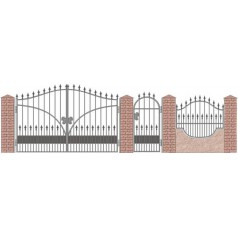 Забор кованый№031