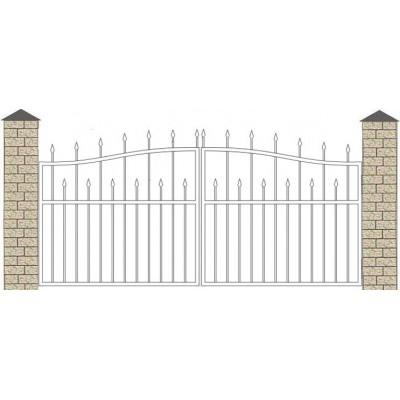 Ворота кованые №043 (средняя стоимость 1010бел. руб.)