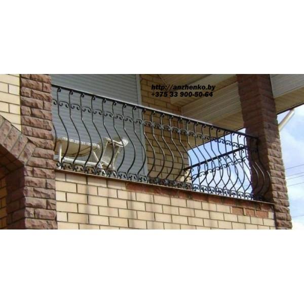 Кованое балконное ограждения Б-27
