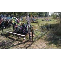 Ограда на могилу №7