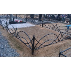 Ограда на могилу №4