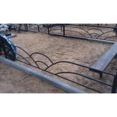 Ограда на могилу №8