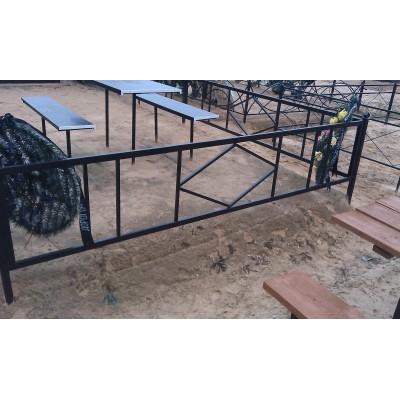 Ограда на могилу №13