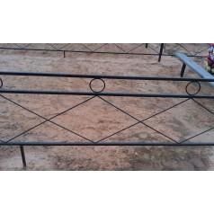 Ограда на могилу №14