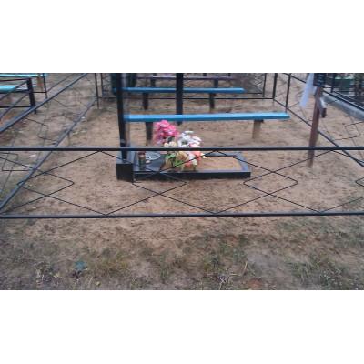 Ограда на могилу №15