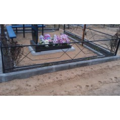 Ограда на могилу №3