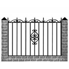 Кованый забор №0156