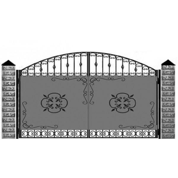 Ворота кованые№0196