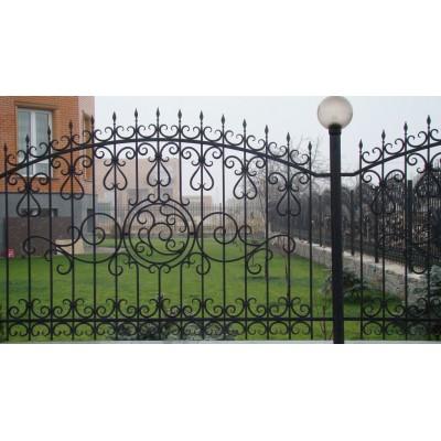 Кованый забор в Минске №0140