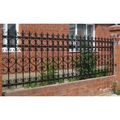 Кованый забор №0152 (в Могилеве)