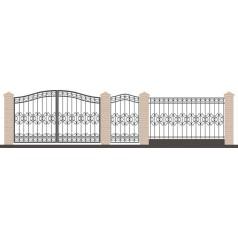 Забор кованый №099