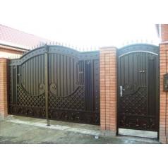 Ворота кованые  №0192 (средняя стоимость 2150 бел. руб.)