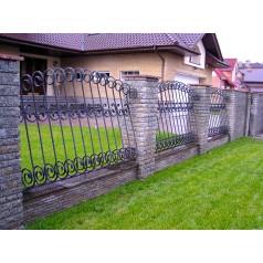 Кованый забор №0153