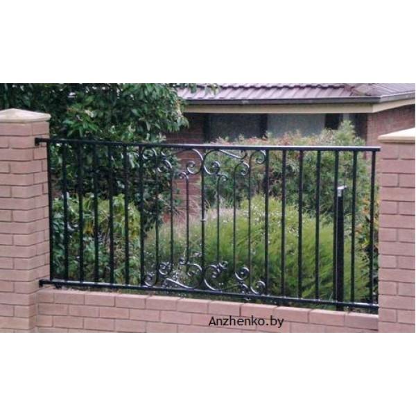 Забор кованый купить №202
