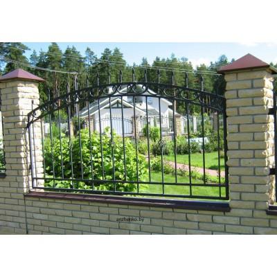 Кованый забор №090