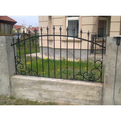 Забор кованый №0271 В Витебске