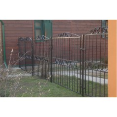 Кованый забор в Шклове Z82